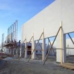 CM Wells warehouse construction