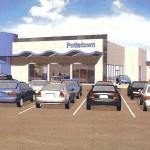Car dealership construction plan