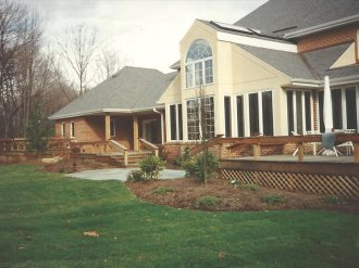 custom home built by cm wells